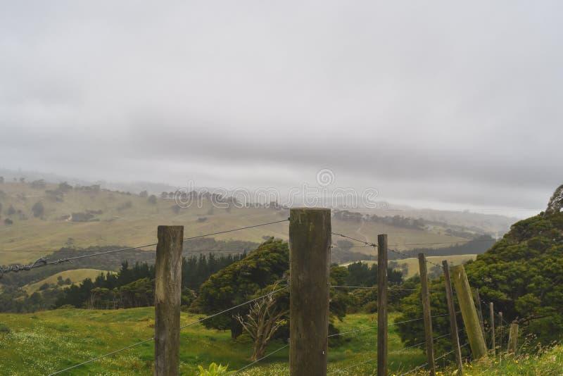 Ansicht von der Oberseite des Berges stockbilder