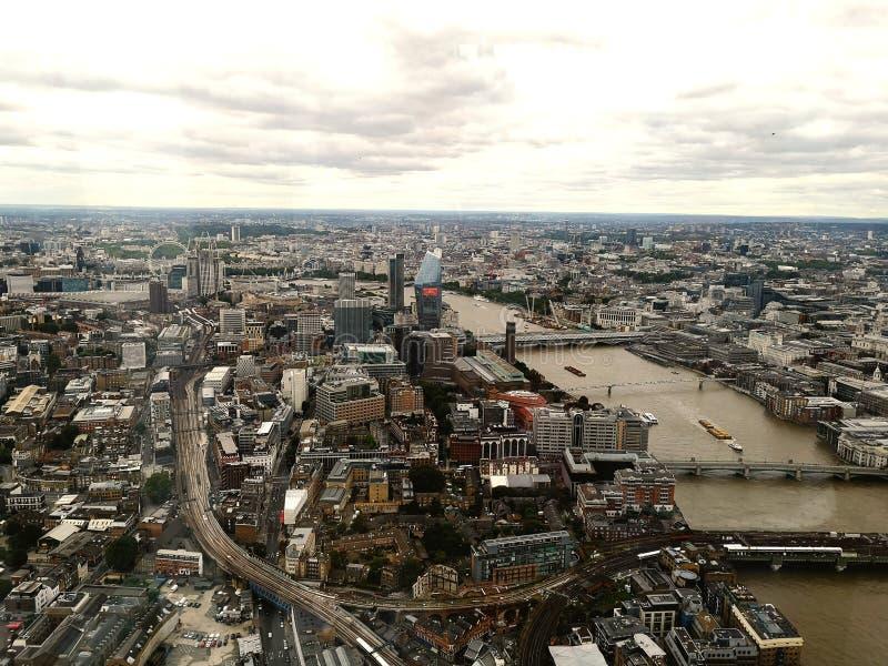 Ansicht von der Scherbe London lizenzfreie stockfotos
