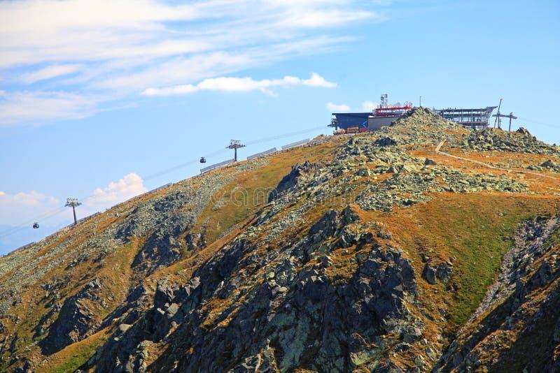 Ansicht von Derese - niedriges Tatras, Slowakei lizenzfreie stockfotografie