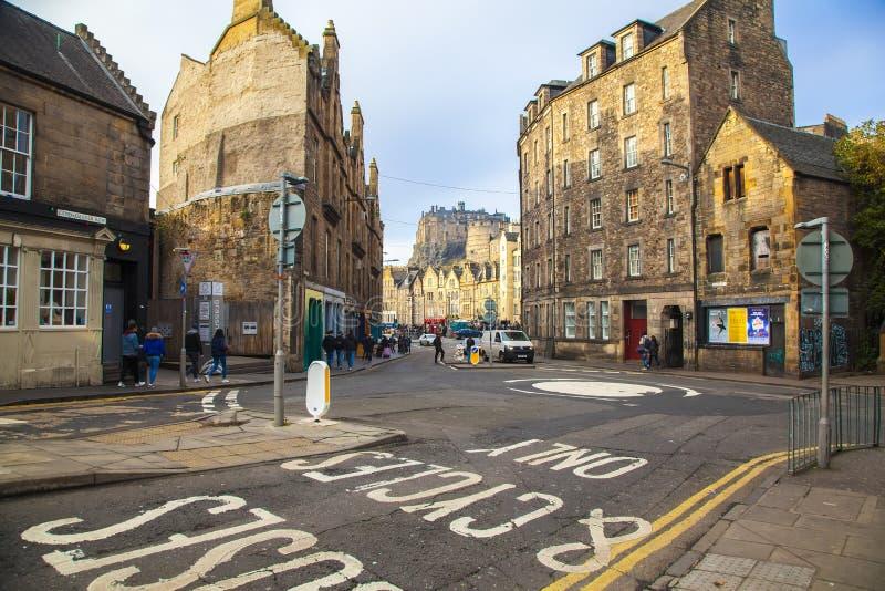 Ansicht von Edinburgh lizenzfreie stockfotos