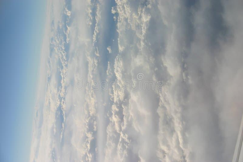 Ansicht von einem Flugzeug stockfotos