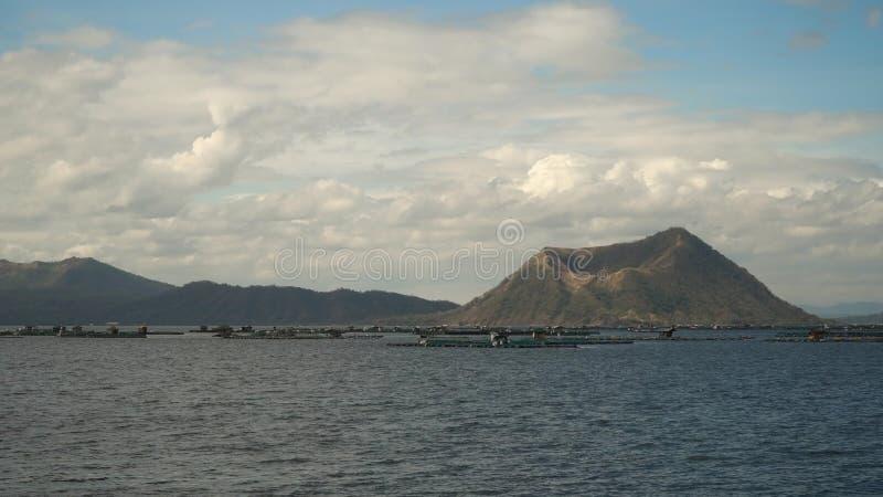 Ansicht von einem Flugzeugfenster Manila, Philippinen lizenzfreie stockfotografie