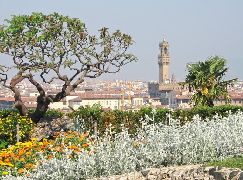 Ansicht von Florenz, Italien stockfoto