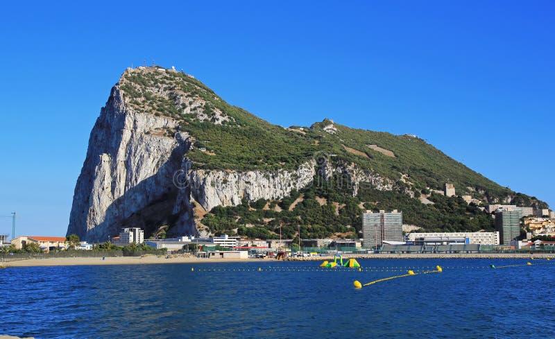 Ansicht von Gibraltar lizenzfreie stockfotos