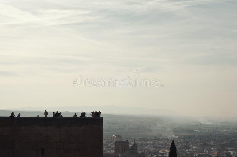 Download Ansicht Von Granada Von Alhambra-Palast Stockbild - Bild von zeit, nave: 47100521