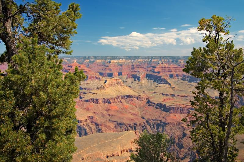 Ansicht von Grand Canyon, Arizona stockfoto