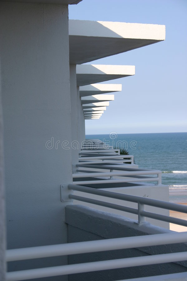 Ansicht von Ihrem Balkon lizenzfreie stockfotos