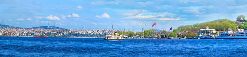 Ansicht von Istanbul von lizenzfreies stockbild