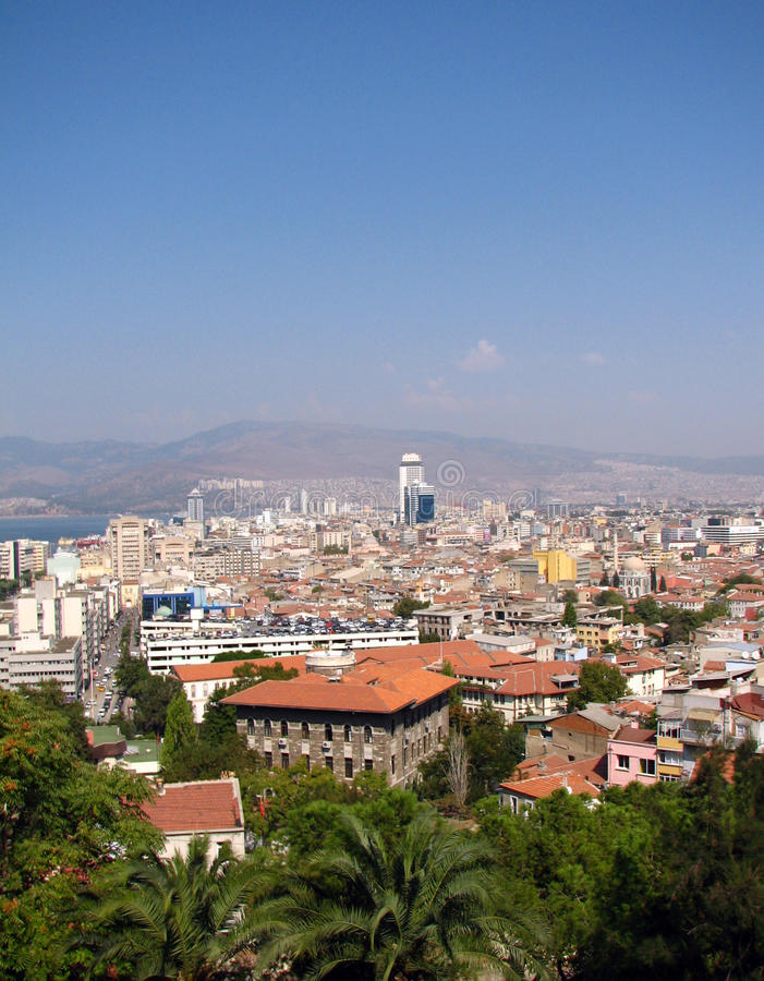 Ansicht Von Izmir Lizenzfreies Stockbild