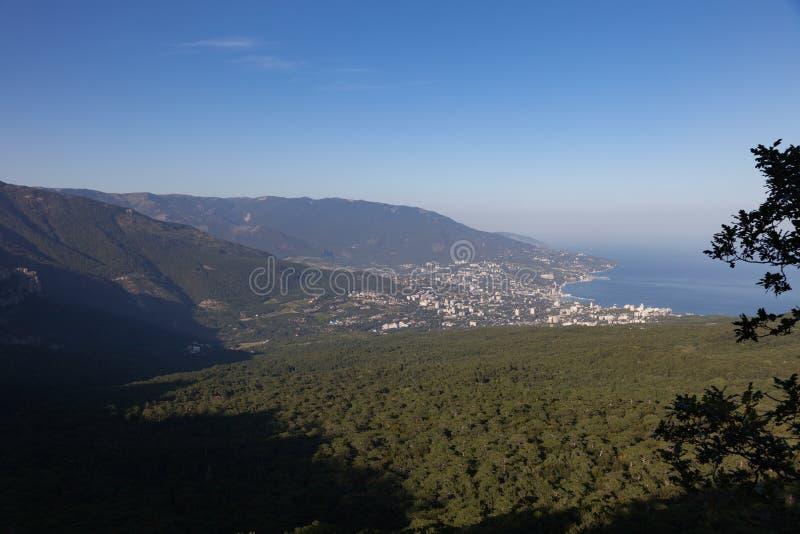 Ansicht von Jalta krim stockbilder