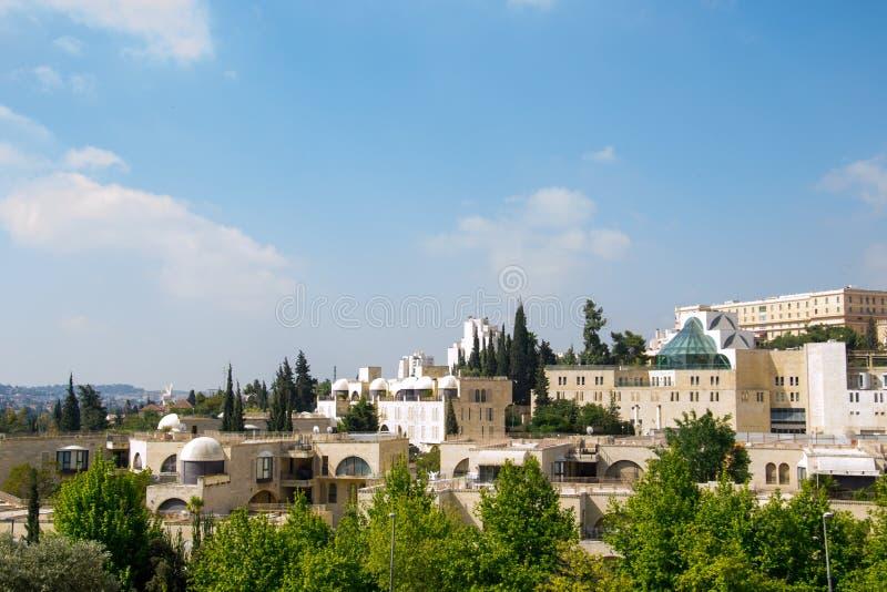 Ansicht von Jerusalem-Stadt stockfotografie