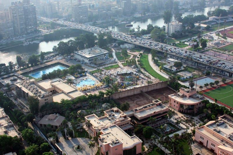 Ansicht von Kairo lizenzfreie stockbilder