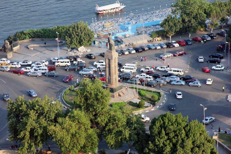 Ansicht von Kairo lizenzfreies stockfoto