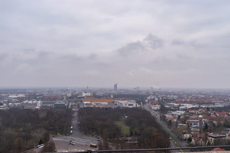 Ansicht von Leipzig lizenzfreies stockbild