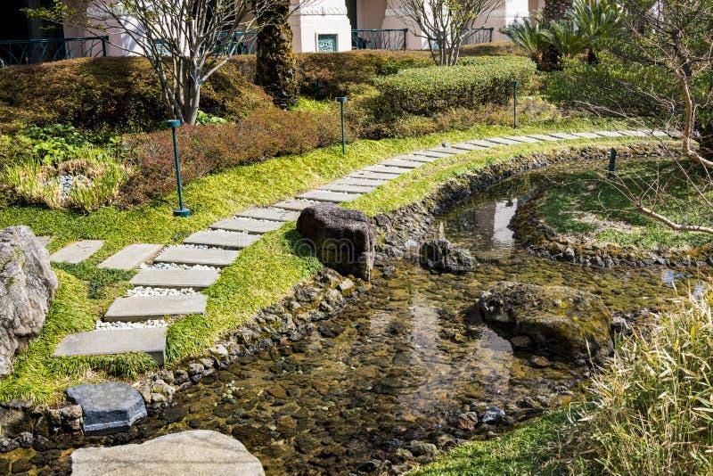 Ansicht von Lotte Hotel Jeju lizenzfreie stockfotografie