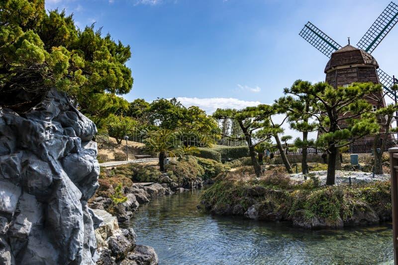 Ansicht von Lotte Hotel Jeju stockbilder