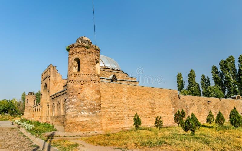 Ansicht von Madrasa Kuhna nahe Hisor-Festung, Tadschikistan lizenzfreie stockfotografie