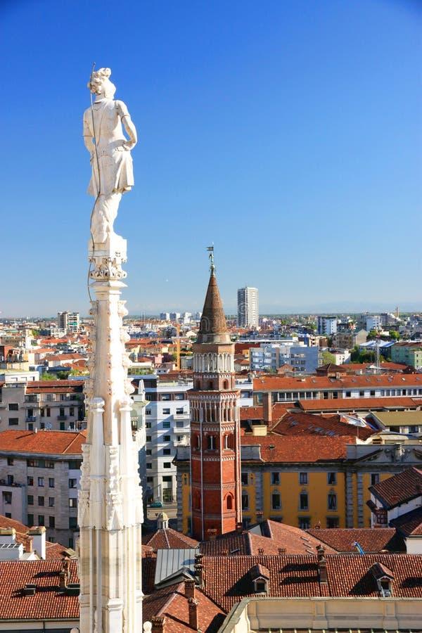 Ansicht Von Mailand Stockbilder