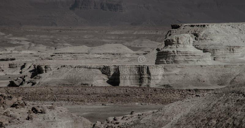 Ansicht von Masada-Festung lizenzfreies stockfoto