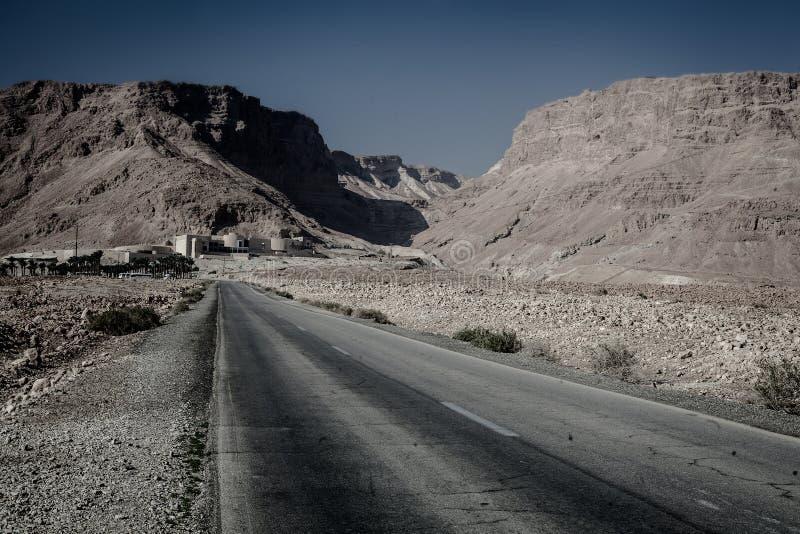 Ansicht von Masada-Festung lizenzfreies stockbild