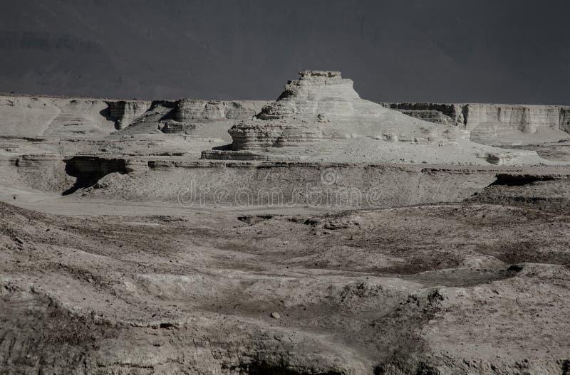 Ansicht von Masada-Festung lizenzfreie stockfotos