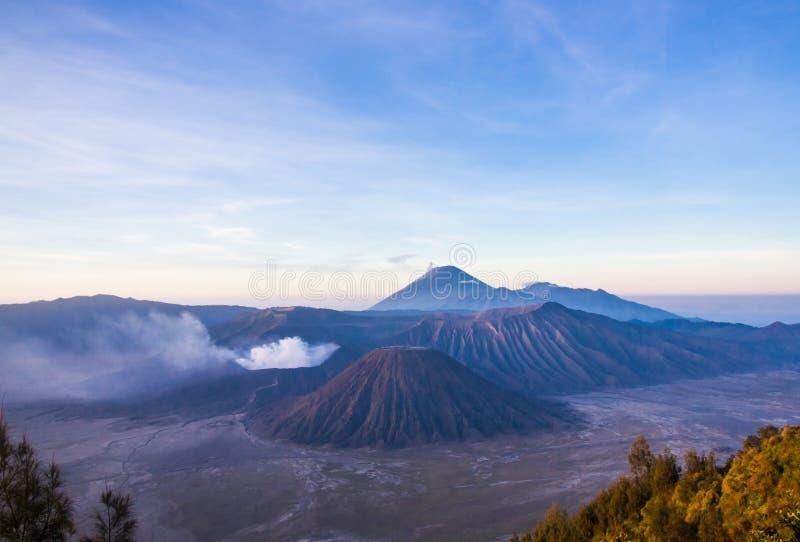 Ansicht von Mt Bromo lizenzfreie stockbilder