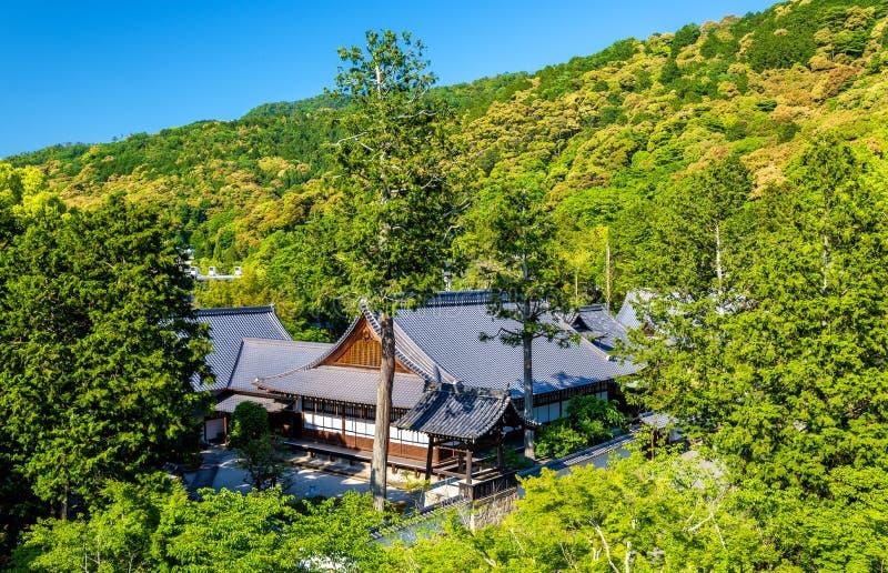 Ansicht von Nanzen-jitempel in Kyoto stockbilder
