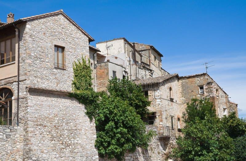 Download Ansicht Von Narni. Umbrien. Italien. Stockfoto - Bild von außen, berg: 26367564