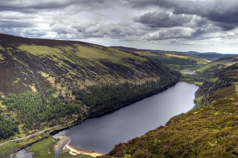 Ansicht Von Oberem See. Irland Stockfotografie