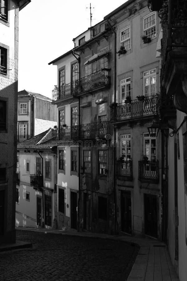Ansicht von Oporto portugal lizenzfreie stockfotografie