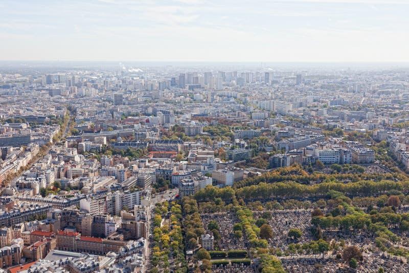 Download Ansicht von Paris stockbild. Bild von skyline, stadt - 27729573