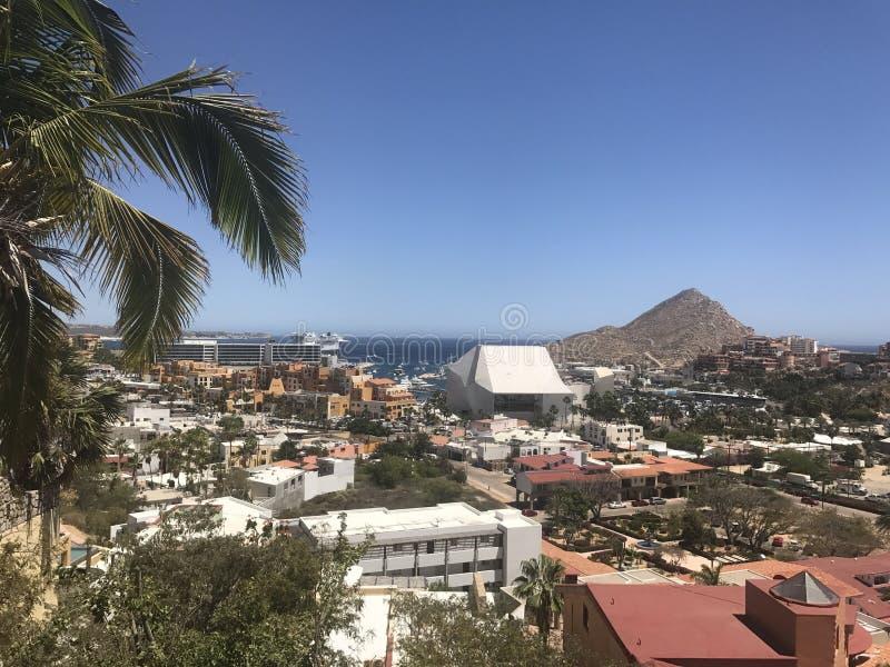 Ansicht von Pedregal, Cabo lizenzfreies stockfoto