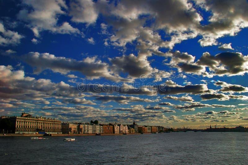Ansicht von Petersburg stockfoto