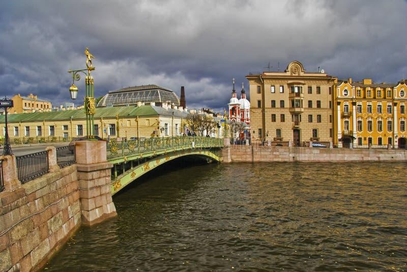 Ansicht von Petersburg lizenzfreie stockbilder