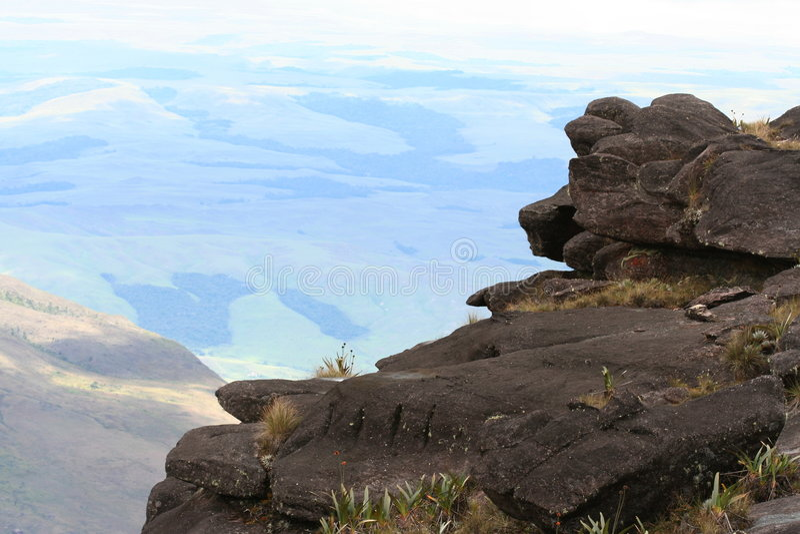 Ansicht von Roraima lizenzfreie stockbilder