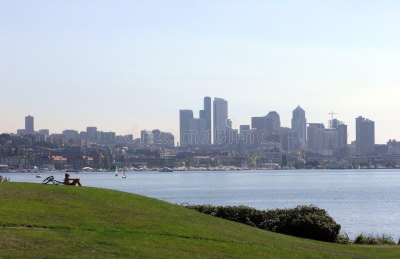 Ansicht von Seattle lizenzfreie stockfotografie