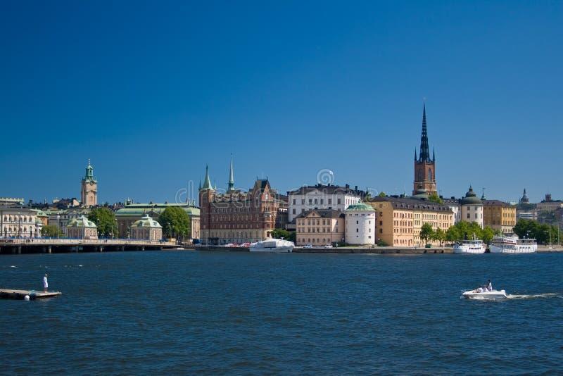 ANSICHT VON STOCKHOLM lizenzfreie stockfotografie