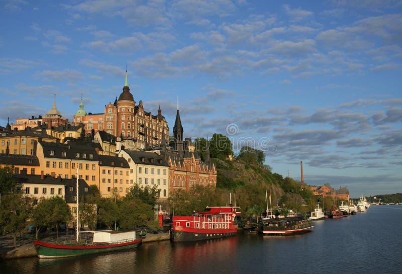 Ansicht von Stockholm stockfoto