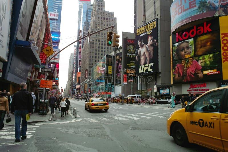Ansicht von Straße New York City 46. lizenzfreie stockfotos