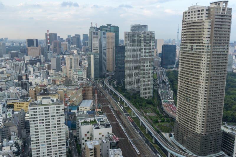 Download Ansicht von Tokyo redaktionelles stockbild. Bild von serie - 96933449