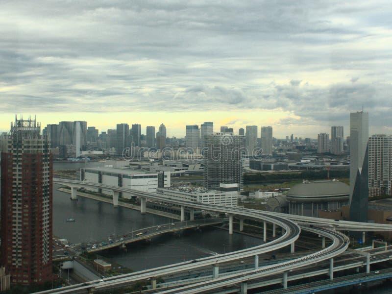 Ansicht von Tokyo-Stadt lizenzfreies stockbild