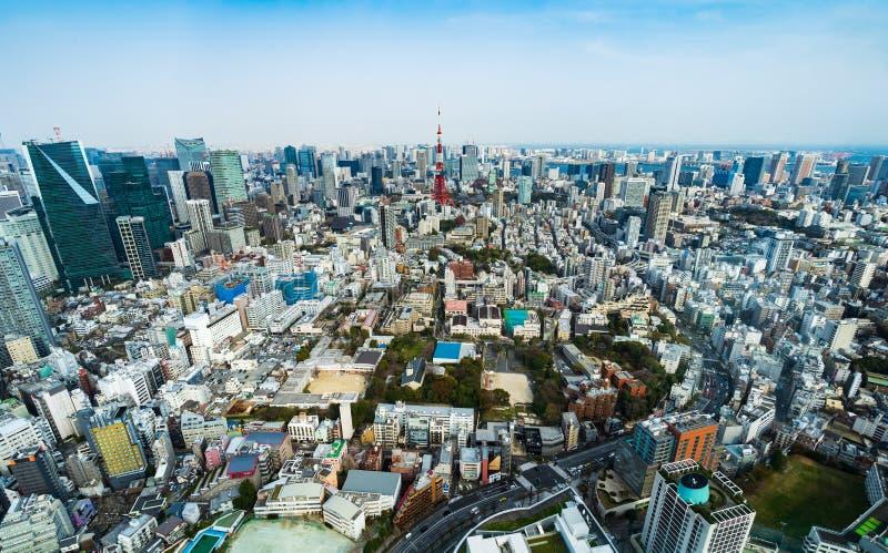 Ansicht von Tokyo-Stadt, Japan stockbild