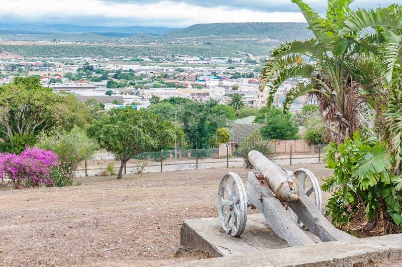 Ansicht von Uitenhage von Canonhill lizenzfreies stockfoto