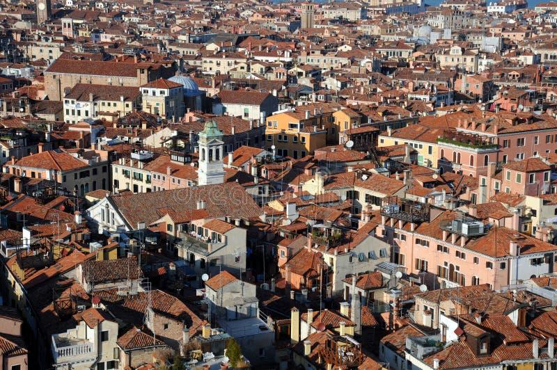 Download Ansicht Von Venedig Vom Glockenturm Stockfoto - Bild von panorama, grenzstein: 27730184