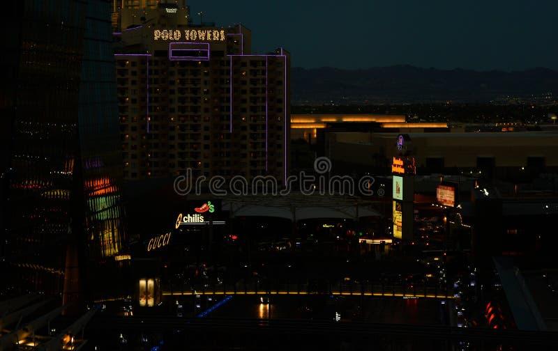 Ansicht von venetianischen Las Vegas lizenzfreies stockbild