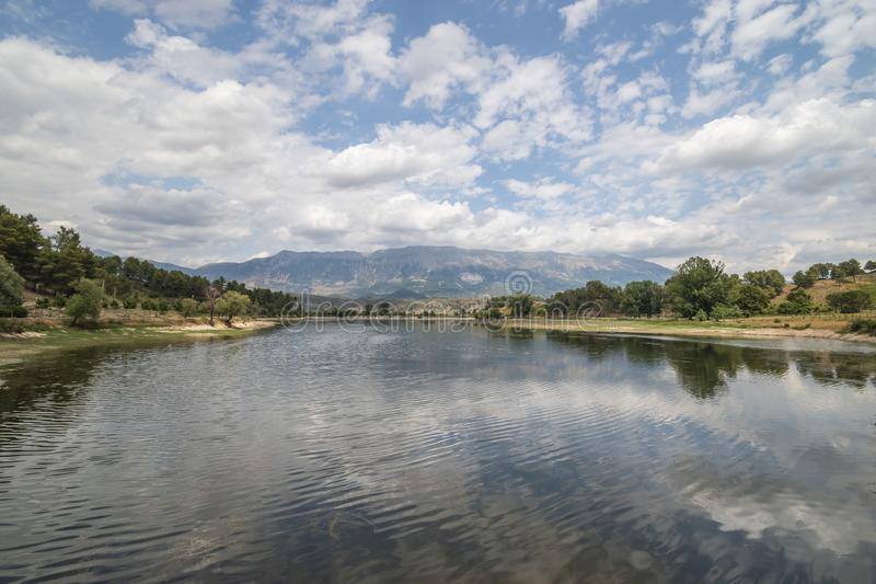 Ansicht von Viroi See stockfotografie