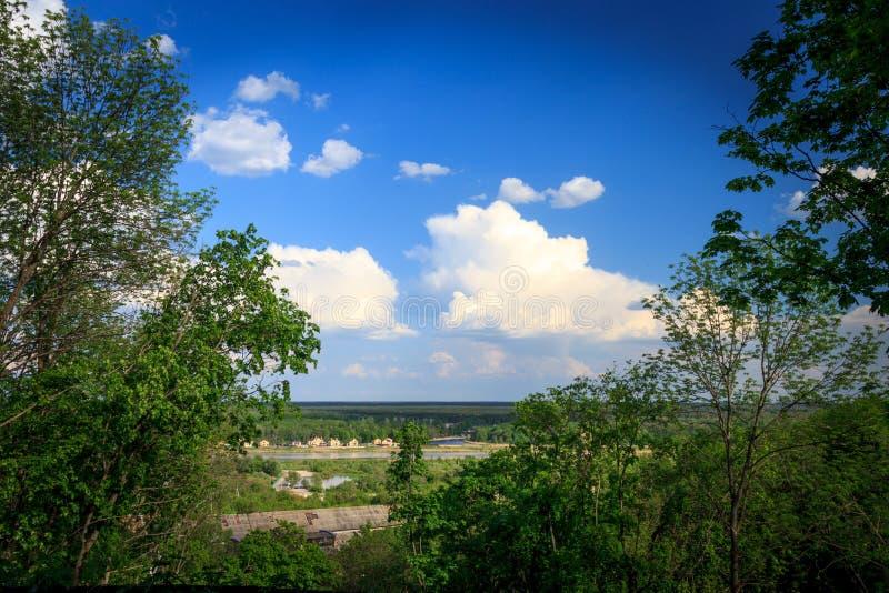 Ansicht von Voronezh stockfotos