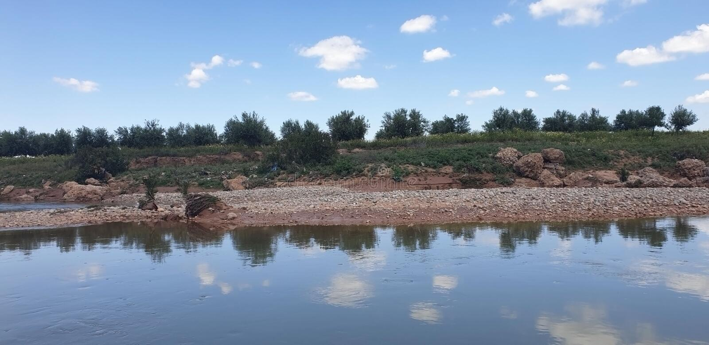 Ansicht von Wadi Darnah im morroco stockbilder