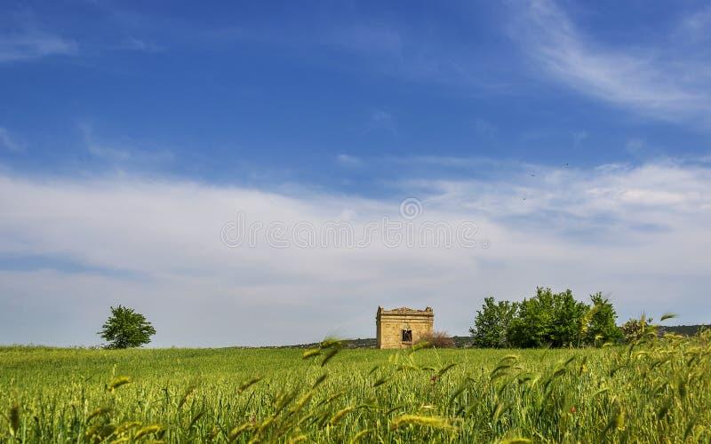 Ansichten der Landschaft um Matera lizenzfreies stockbild