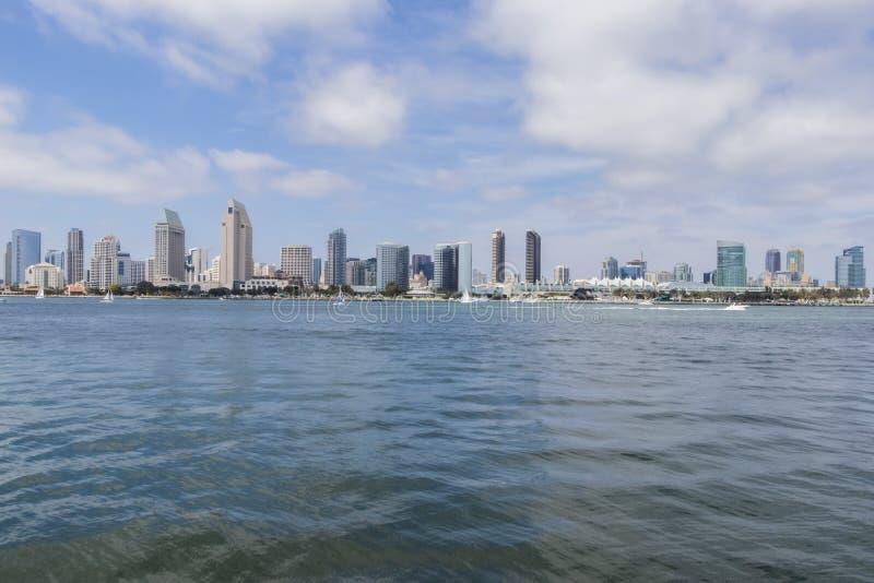 Ansichten der Stadt von San Diego California stockfoto